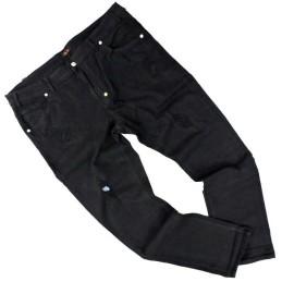 tg 58 68 e 70 jeans blocco 38 taglie forti 5 tasche stretch uomo nero