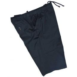 da 3xl a 8xl Bermuda pantalaccio taglie forti maxfort 4xl 5xl 6xl 7xl uomo cotone elastico in vita primavera estate blu