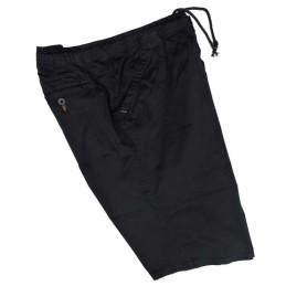 da 3xl a 8xl Bermuda pantalaccio taglie forti maxfort 4xl 5xl 6xl 7xl uomo cotone elastico in vita primavera estate nero