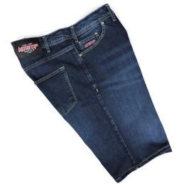 da 56 alla 62 bermuda non stop taglie forti 58 60 uomo jeans elastico