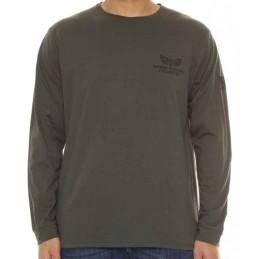 da 3xl a 8xl tshirt maxfort easy taglie forti 4xl 5xl 6xl 7xl manica lunga uomo E1918