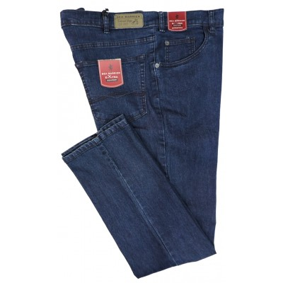 DA 56 A 78 JEANS TAGLIE FORTI 58 60 62 64 66 68 70 72 74 76 SEA BARRIER UOMO LUI COLLECTION PANTALONI STRETCH ELASTICO VITA ALTA
