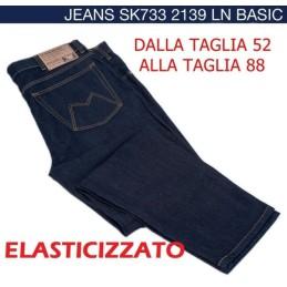 DA 56 A 88 JEANS MAXFORT SK UOMO TAGLIE FORTI 88 84 82 80 78 76 74 72 70 68 66 64 62 60 58 blu